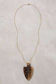 Spade Pendant Necklace