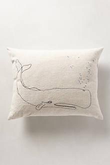 Bubbling Whale Pillow