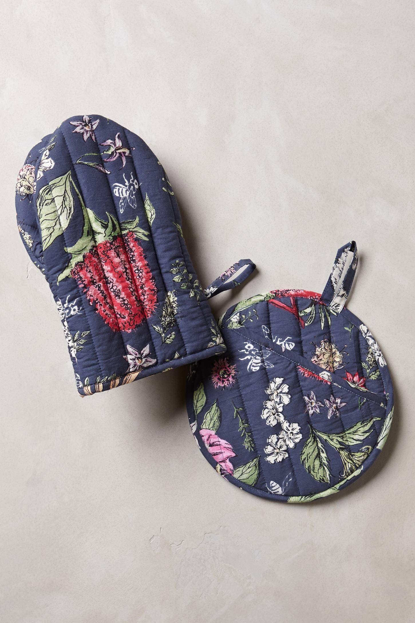 Butterfly Garden Potholders