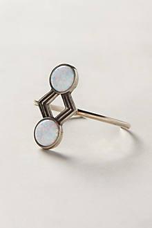 Opal Symmetry Cuff