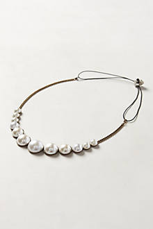 Graduated Pearl Headband