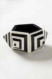 Striped Pyramid Bracelet