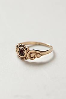 Antique Cinnamon Sunset Midi Ring