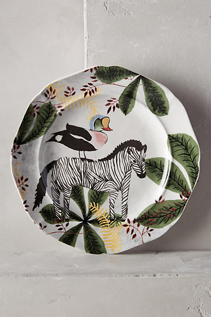 Echo Treks Dessert Plate - anthropologie.com