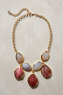 Gilded Agate Necklace
