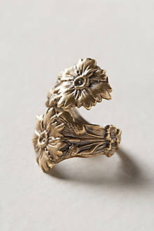 Winding Wildflower Ring