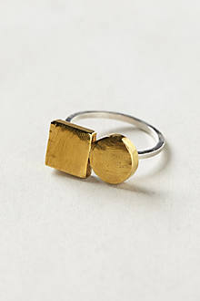 Duo Shapes Ring