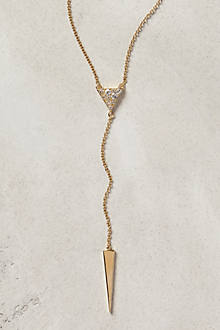 Elizabeth and James Valencia Lariat Necklace