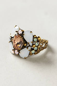 Sparkle Cluster Ring