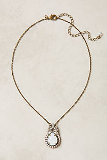 Rosewater Pendant Necklace