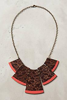 Leopardlace Bib Necklace