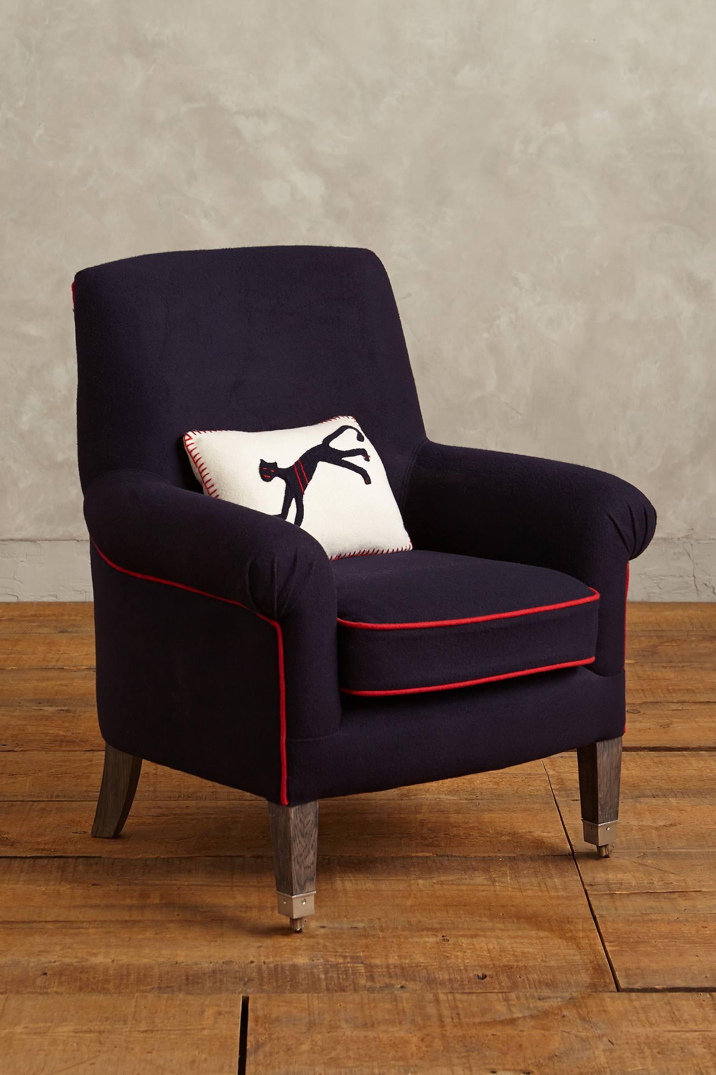 Folkthread Piped Armchair