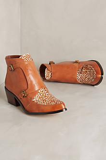 Sanne Speckled Booties
