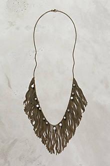 Pearled Fringe Necklace