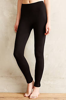 Fleece-Lined Cable Leggings