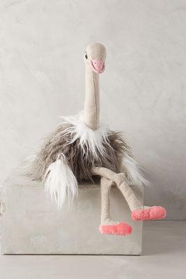 Olivia Ostrich Stuffed Animal