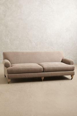 Linen Willoughby Sofa, Wilcox