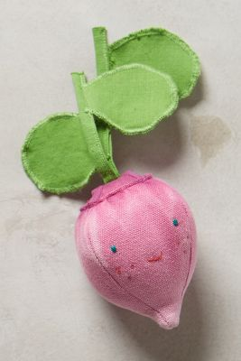 Baby Vegetable Rattle