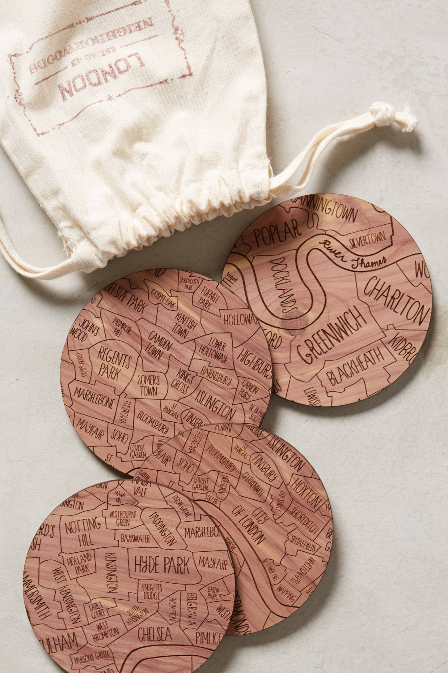 In The Neighborhood Coasters
