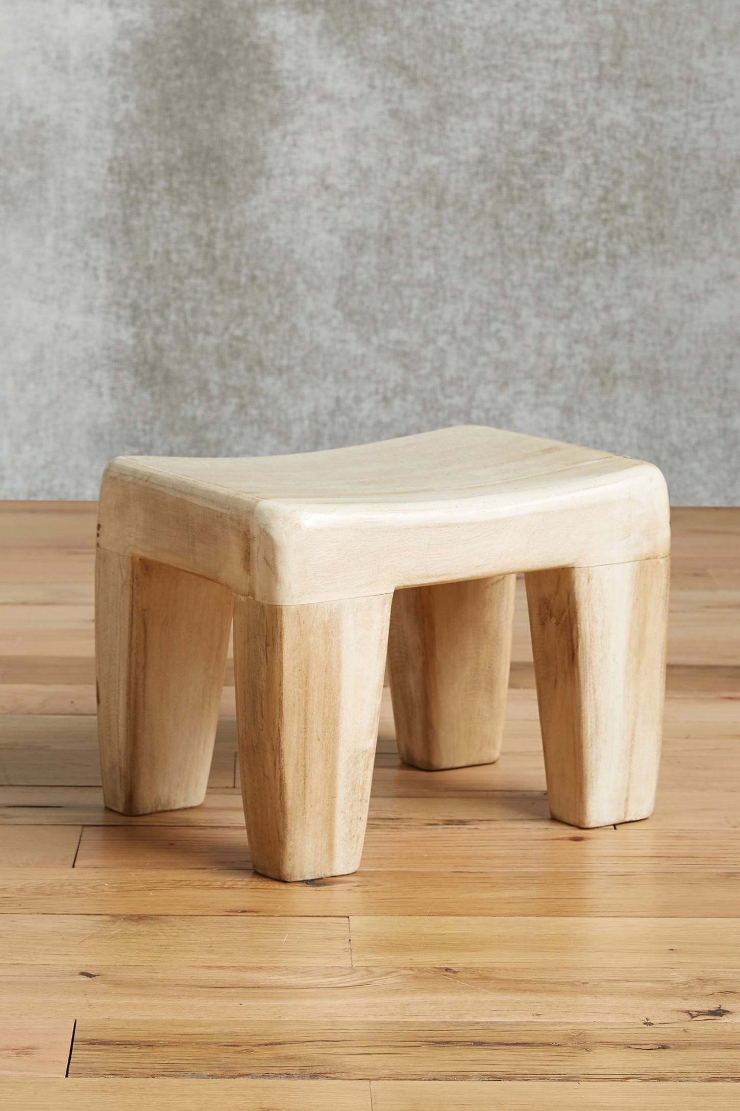 Diente Stool, Rectangle