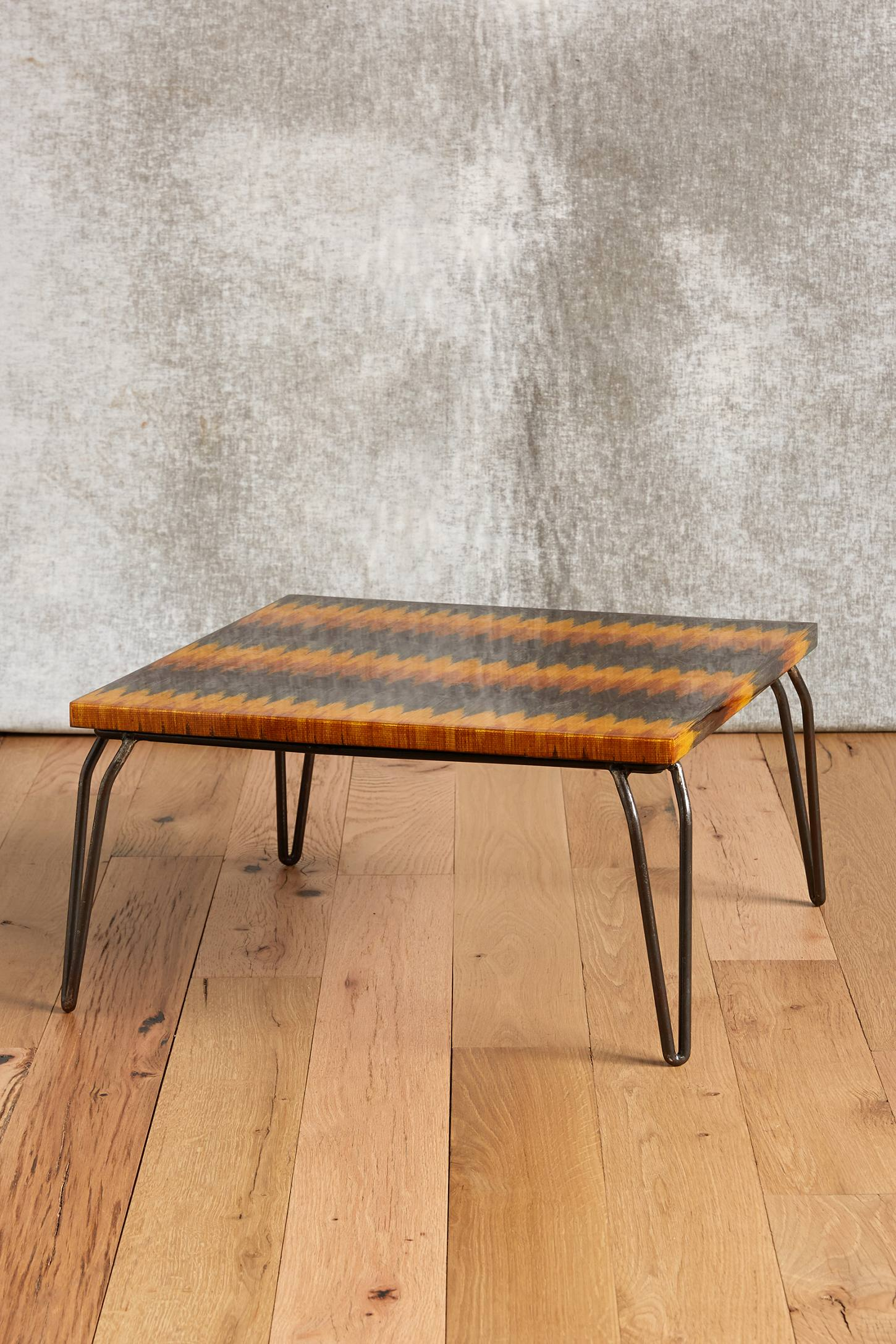 Hand-Loomed Nesting Table
