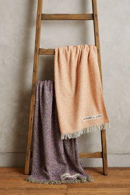 Woolen Tweed Throw