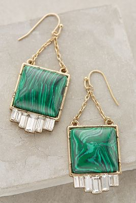 Fringed Malachite Drops