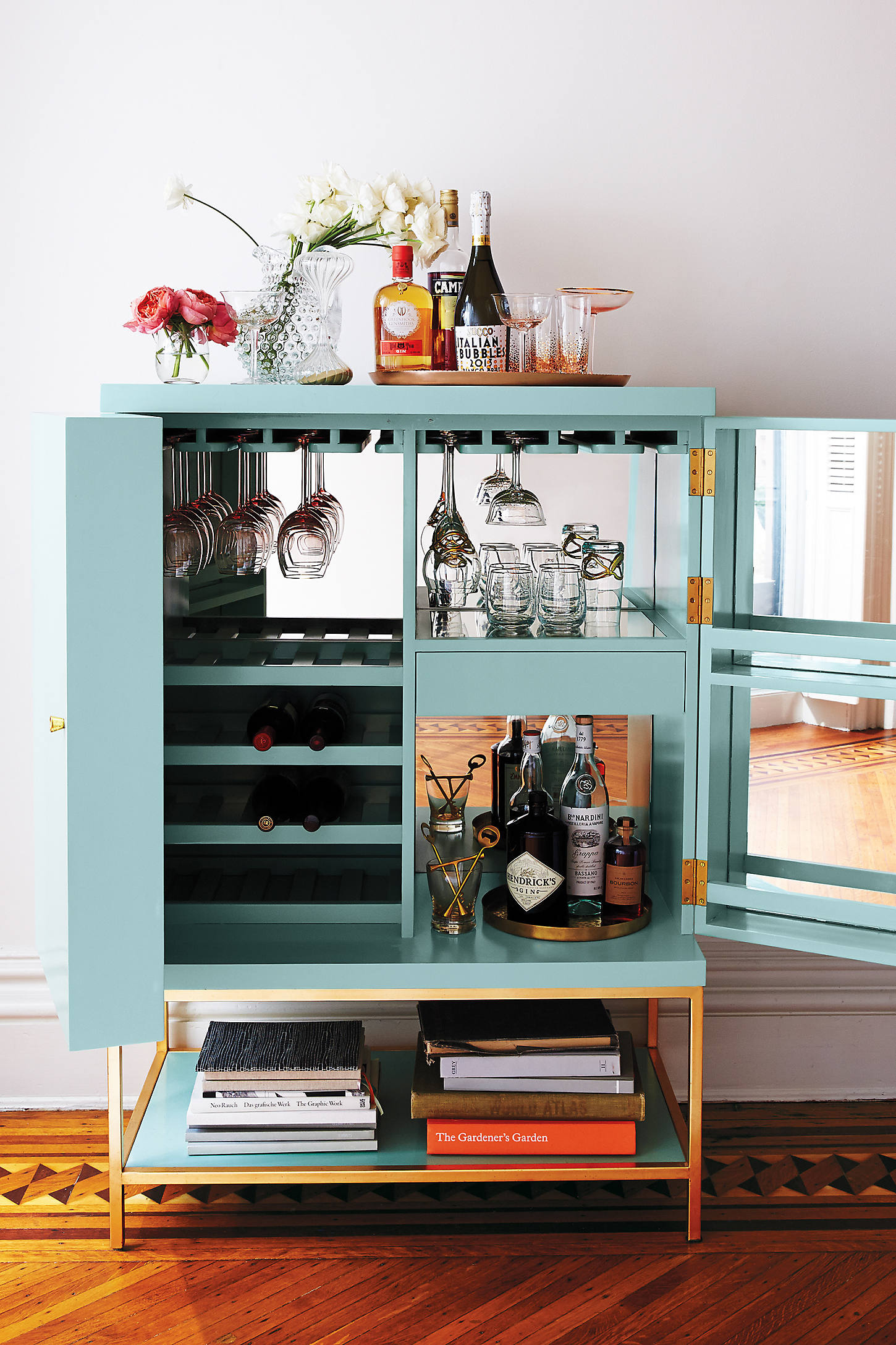 Lacquered Bar Cabinet