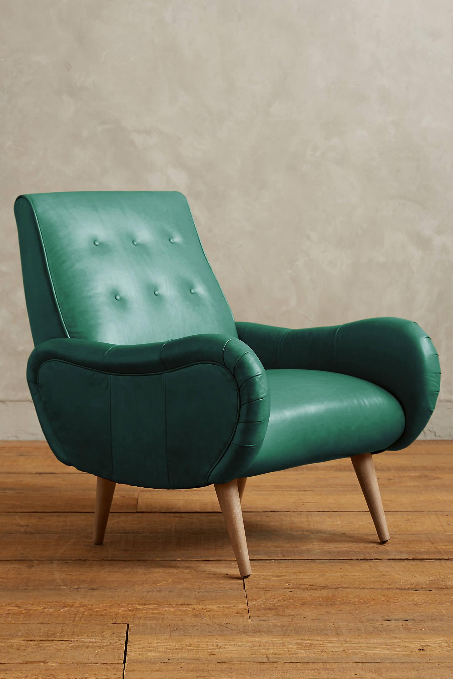 Premium Leather Losange Chair