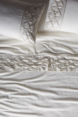 Antiqued Lace Sheet Set
