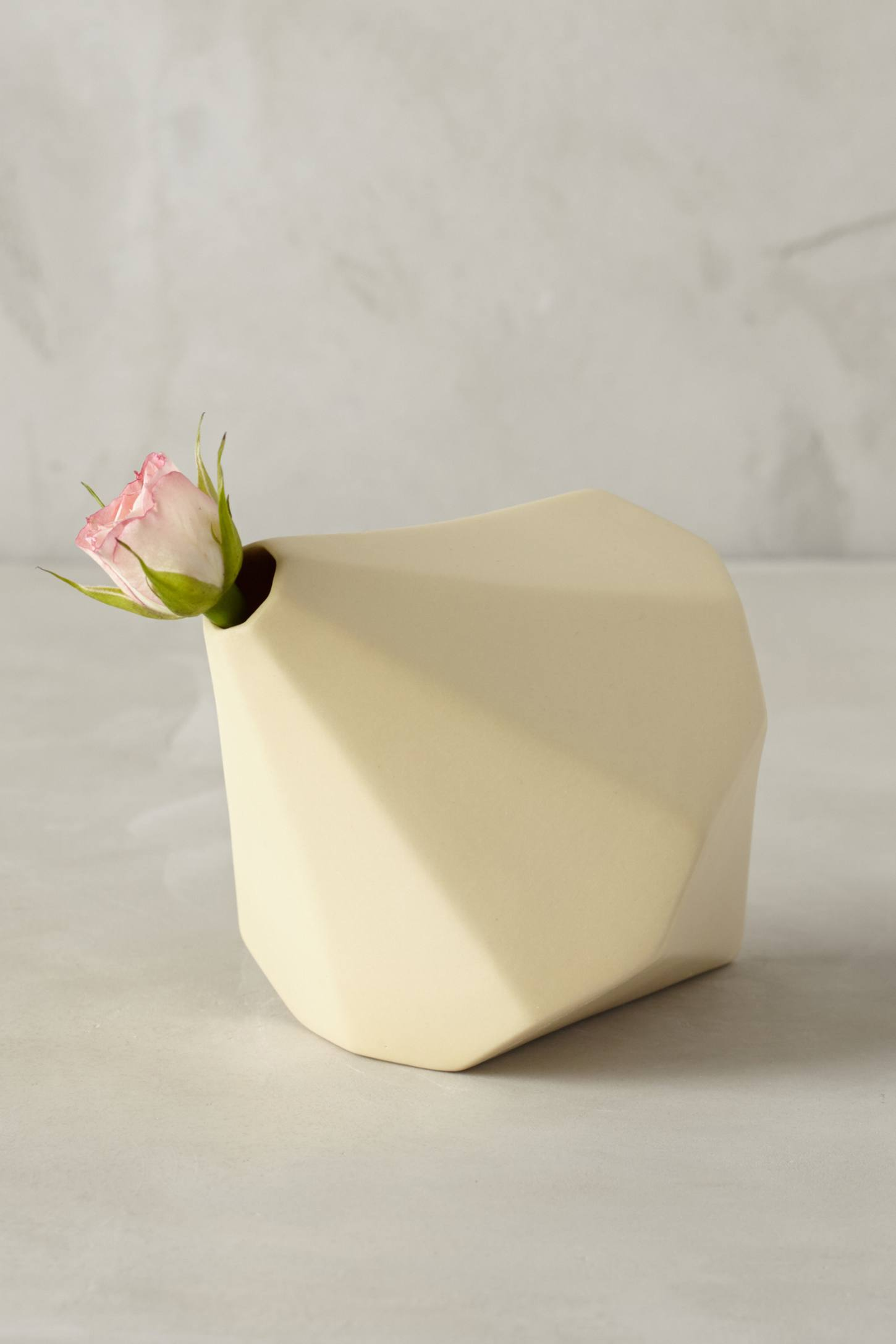 Faceted Boulder Vase