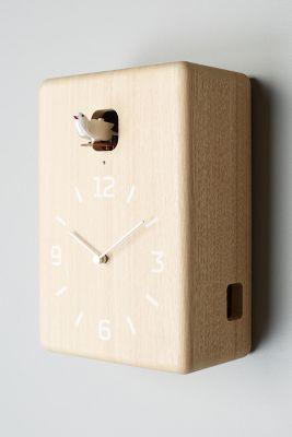 Carved Cuckoo Wall Clock