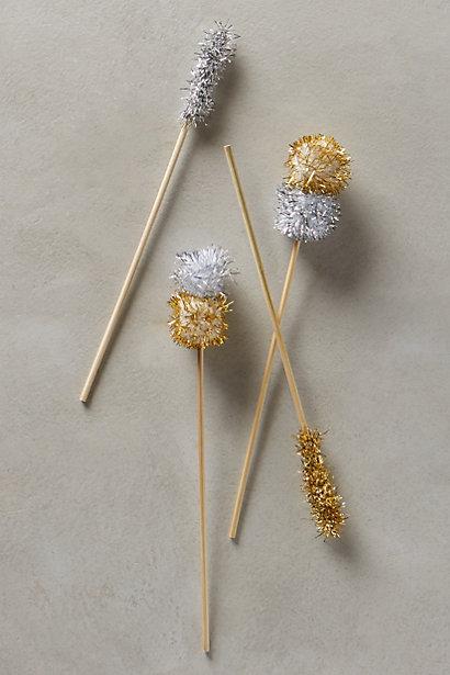 pom pom stir sticks