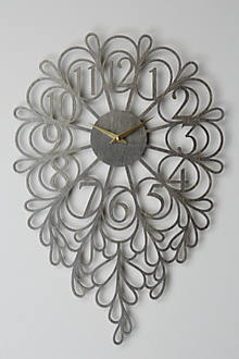 Gatehouse Wall Clock, Vines
