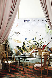 Nightfall on the moor mural for Anthropologie wall mural