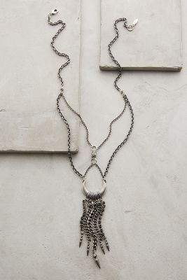 Chained Crescent Necklace
