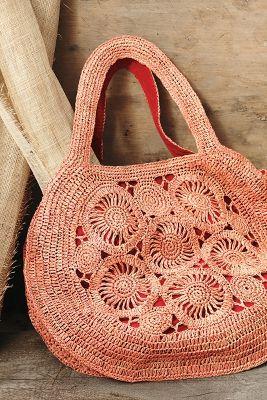 Swirled Bouquet Bag