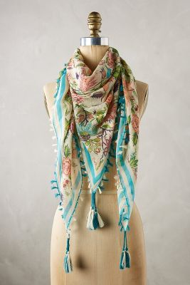 Conservatory Square Scarf