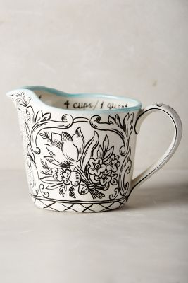Storybook Flora Measuring Cup