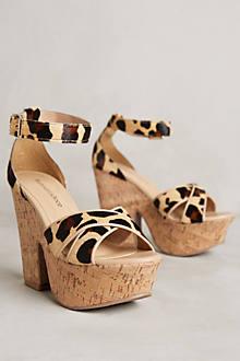 Raphaella Booz Leopard Platforms