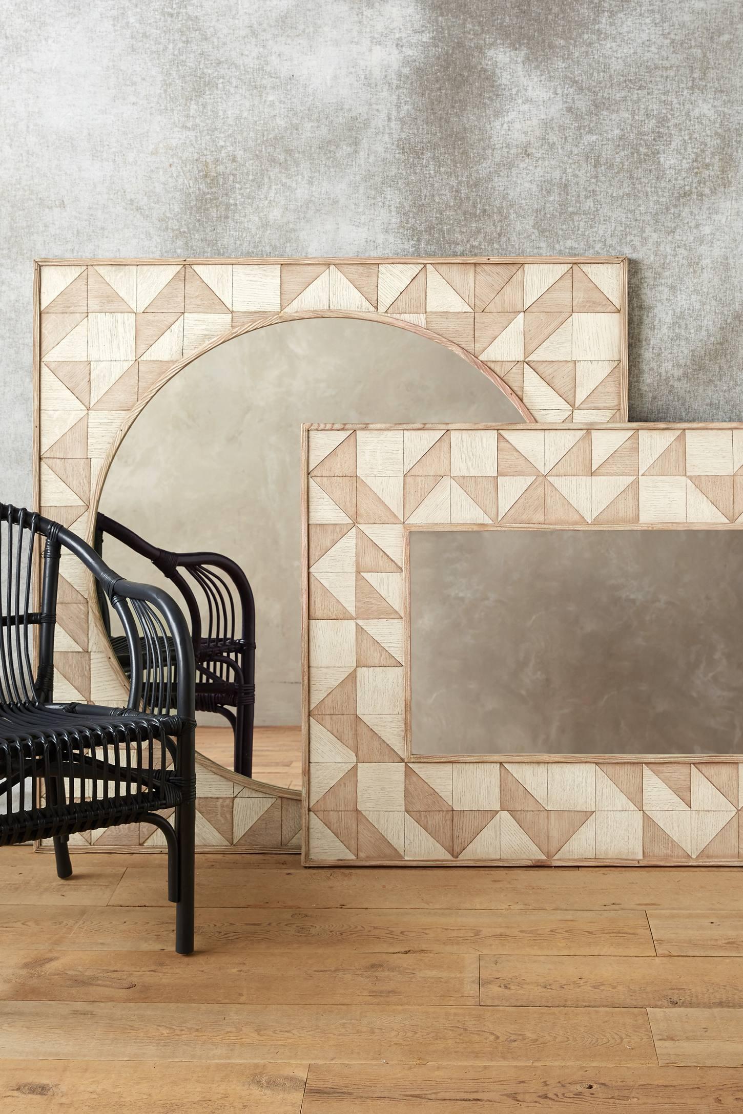 Brick Mosaic Mirror