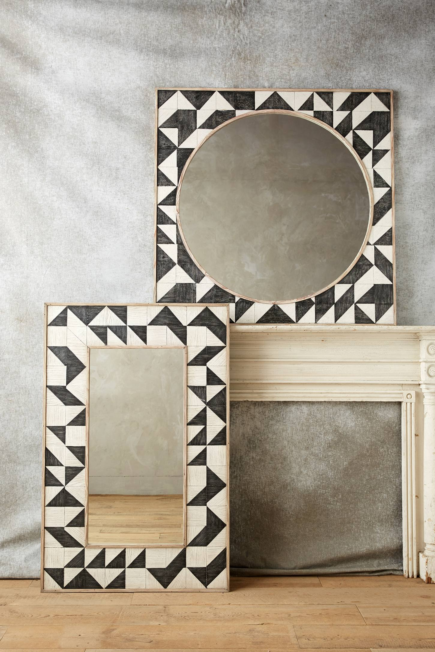 Brick Mosaic Mirror