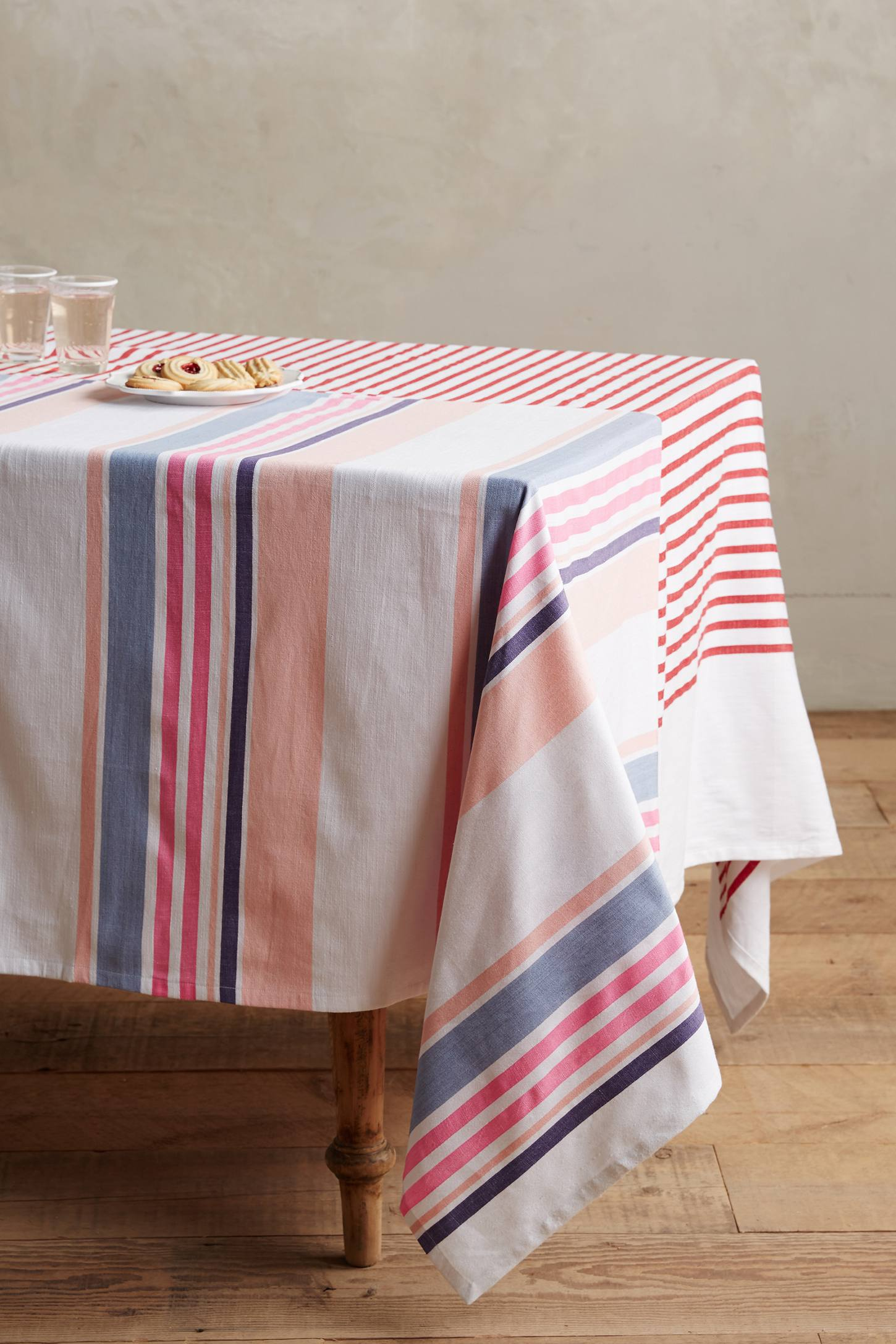 Solstice Stripes Tablecloth