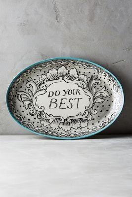 Felicitation Platter