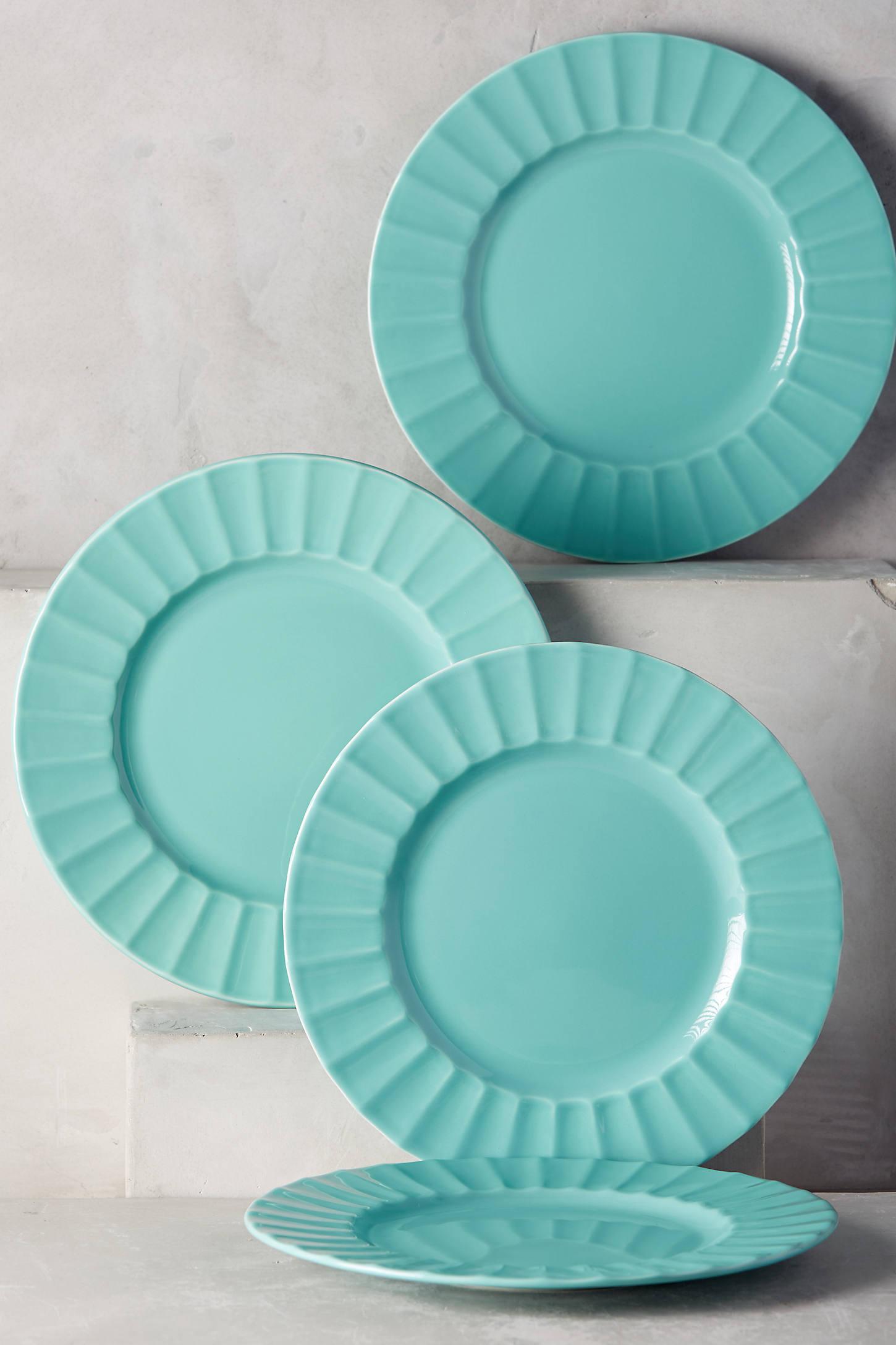 Latte Dinner Plate Set