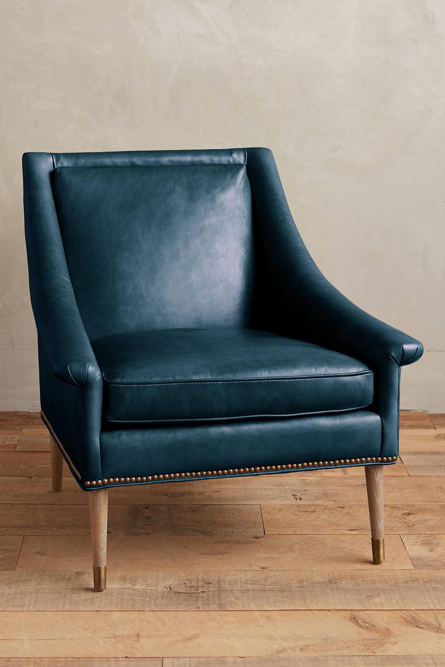 Premium Leather Tillie Armchair