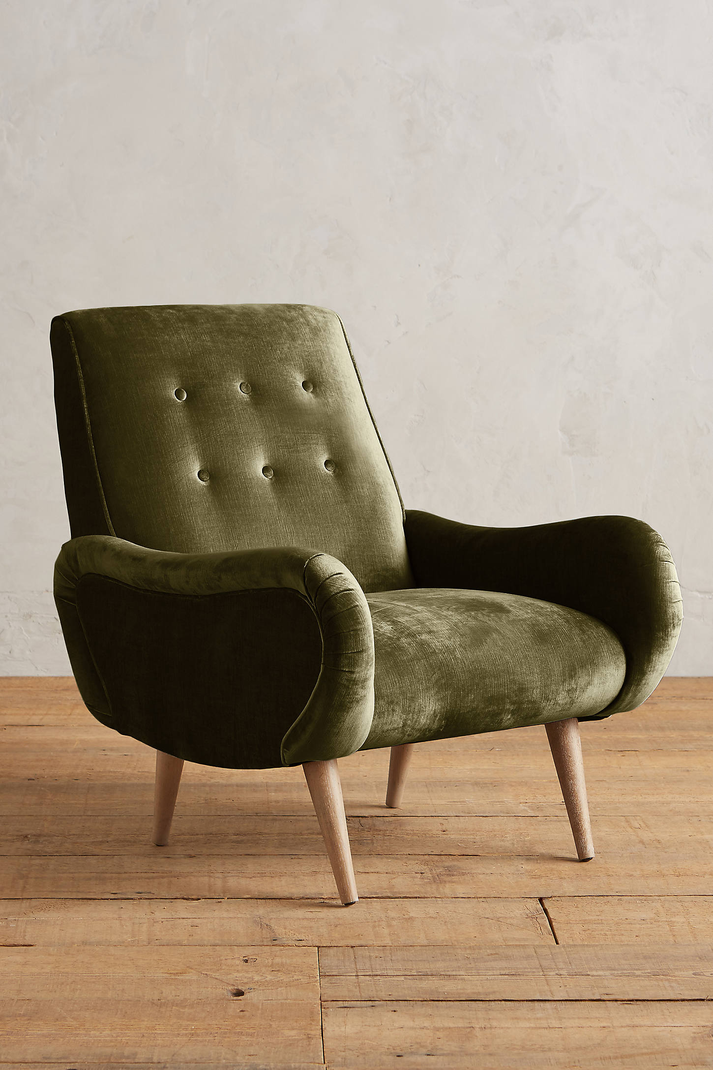 Slub Velvet Losange Chair