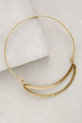 Gliding Collar Necklace
