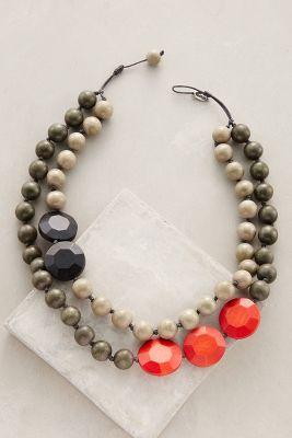 Rekenrek Layered Necklace