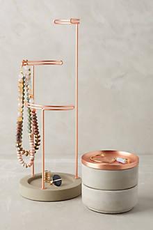 Tesora Jewelry Storage Collection